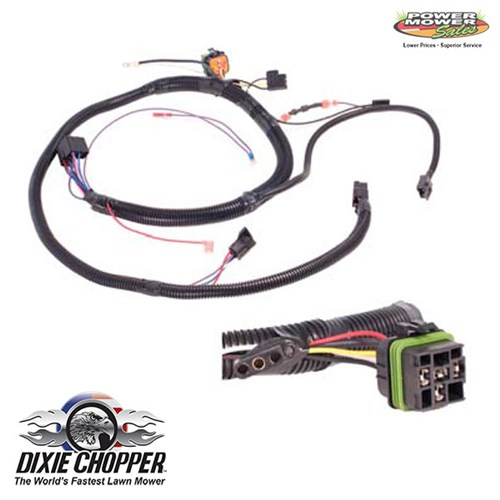 dixie chopper generac 33hp wiring harness 500052 rh generac parts com