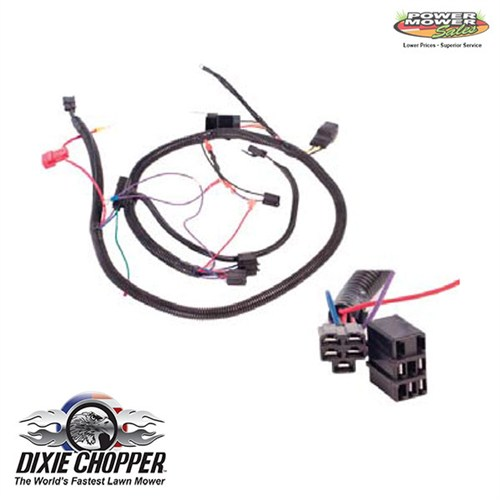 dixie chopper kohler 40hp wiring harness 500073. Black Bedroom Furniture Sets. Home Design Ideas