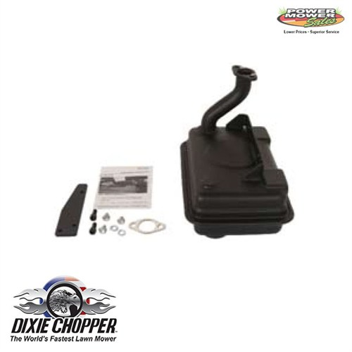 Dixie Chopper Kohler Muffler 20HP, 901205