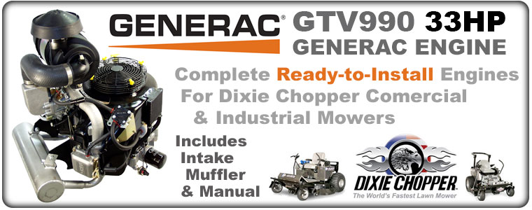 Welcome to Generac Engine Parts by Power Mower Sales -