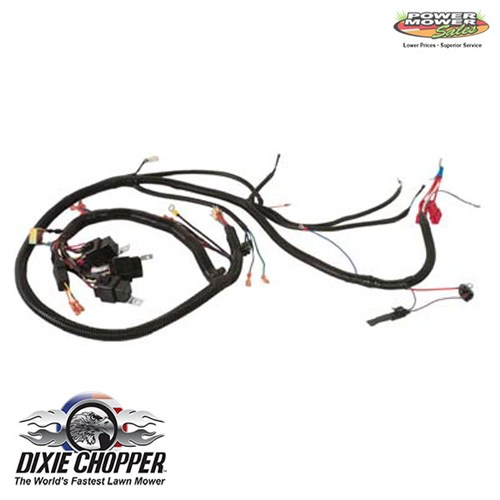 dixie chopper yanmar diesel wiring harness 500089